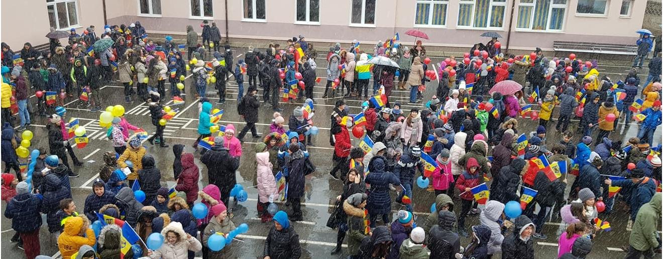 Parada ROMÂNIA-100